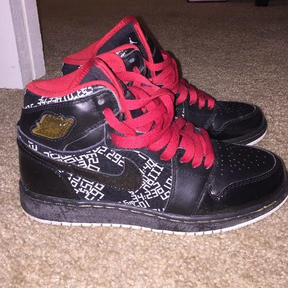 High top hall of fame retro Jordan's High top hall of fame retro Jordan one's no box Jordan Shoes Sneakers