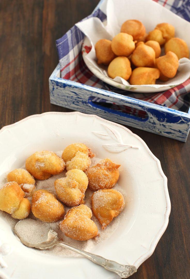 Frittelle zucchero e cannella