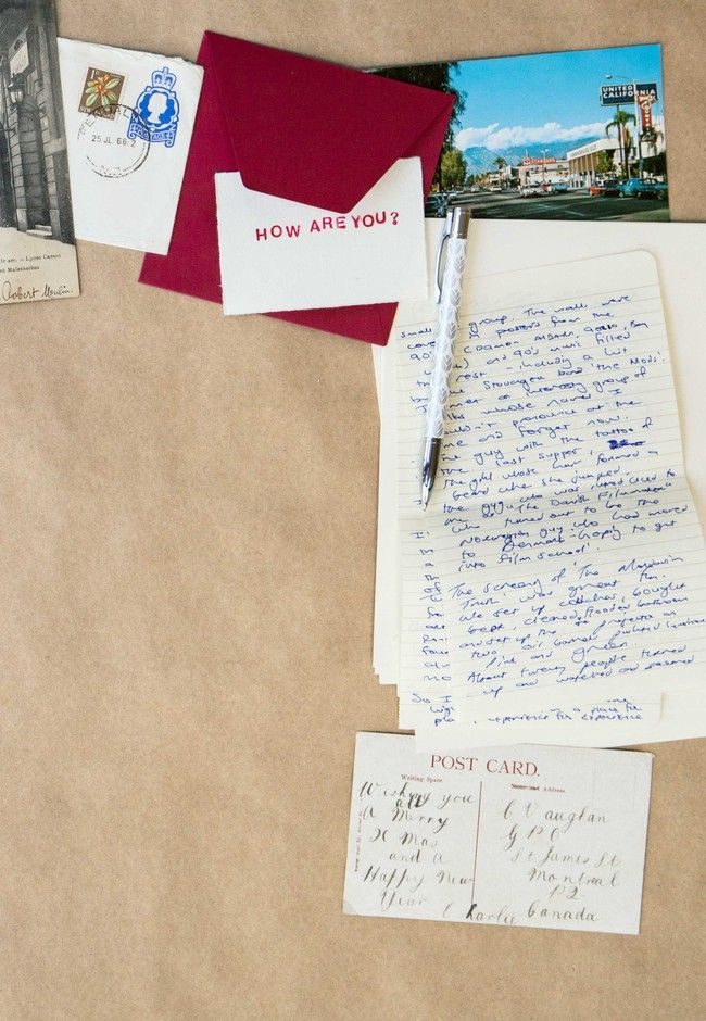 The beginner's guide to letter-writing   Good Magazine Photography Aimee Carruthers