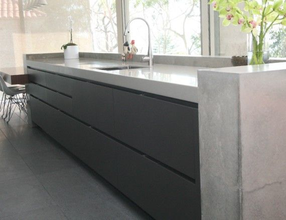 Concrete By Design » Concrete Benchtops