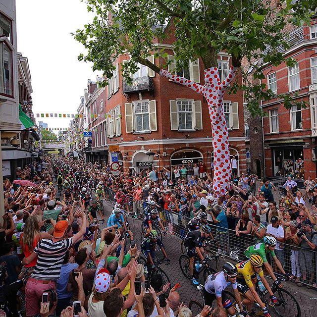 The Start In Utrecht Was Just Amazing TDF2015 Credit TDWsport Tim De