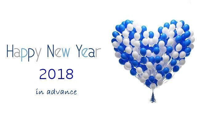 This is correct time to wish everyone a happy New Year 2018 in ...