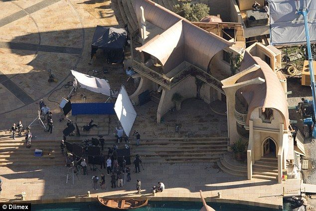 New THOR: RAGNAROK Aerial Set Photos Reveal A Quinjet And A HULK-Out Scene In The Making