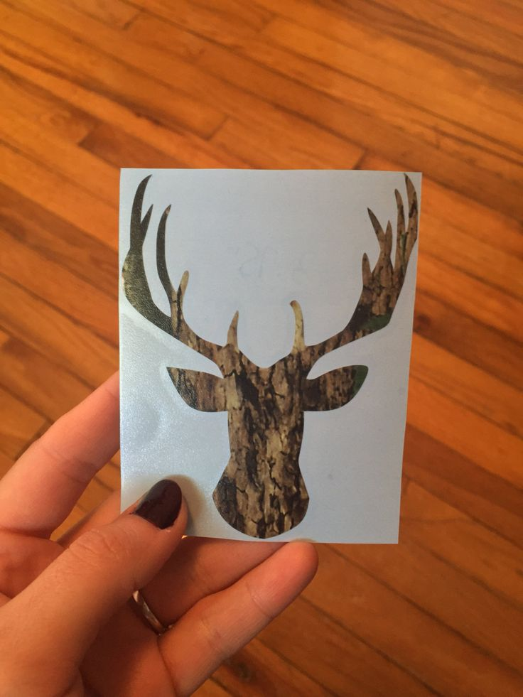 Yeti Cooler Hunter Personalized Camo Vinyl Decal - Camouflage Antler Decal - [Large Decals] by HaleighMichelleVinyl on Etsy