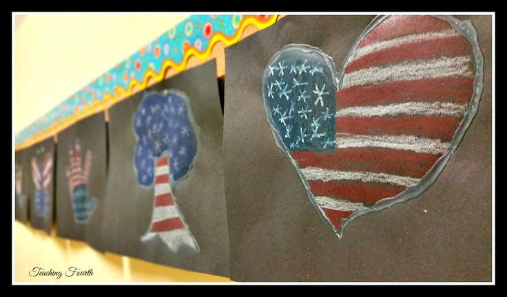 Veterans Day Art- directions are included in the blog post!  What a quick, fun, meaningful activity!