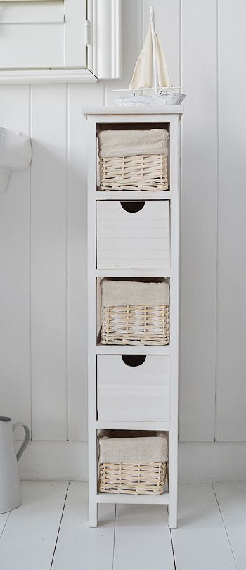 Slim Narrow Bathroom Bathroom Cabinet Storage