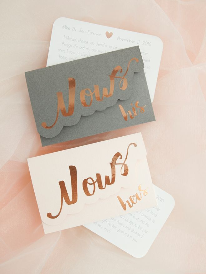 wedding ceremony wording samples%0A How to make your own wedding vow notebook    Wedding vows  Weddings and DIY  wedding