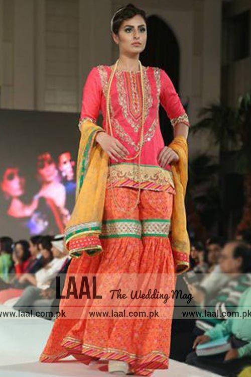 Latest Mayun Dresses for Bride-- Laal (the wedding magazine)