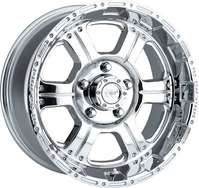 Pro Comp Wheels And Tires Series 1089 Polished Finish