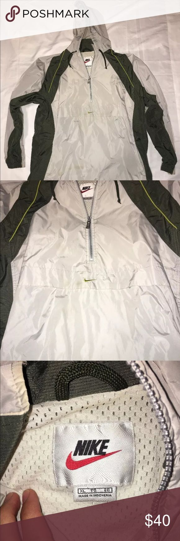 vintage 1990s nike rain jacket 90s nike rain jacket  super clean  size XL  follow on the gram @pa_soleking.610  i am always buying shoes please message me or dm me on the gram  all buyers who do not pay for their item will be blocked from my page   please make sure to look at all pictures before purchasing   if you want to offer make sure you can pay that offer or don't bother offering at all   payment is due within 3 days or unpaid case will be automatically opened Nike Jackets & Coats…