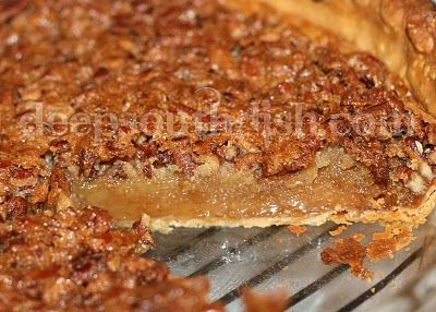 This recipe is just good ole, classic and basic, old fashioned, southern pecan pie the way I love it.