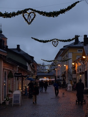 Traditional Christmas Market in Old Porvoo