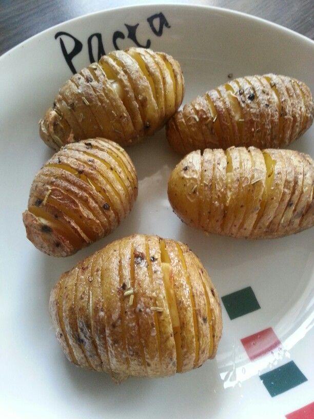 Geroosterde aardappelen met rozemarijn en knoflook