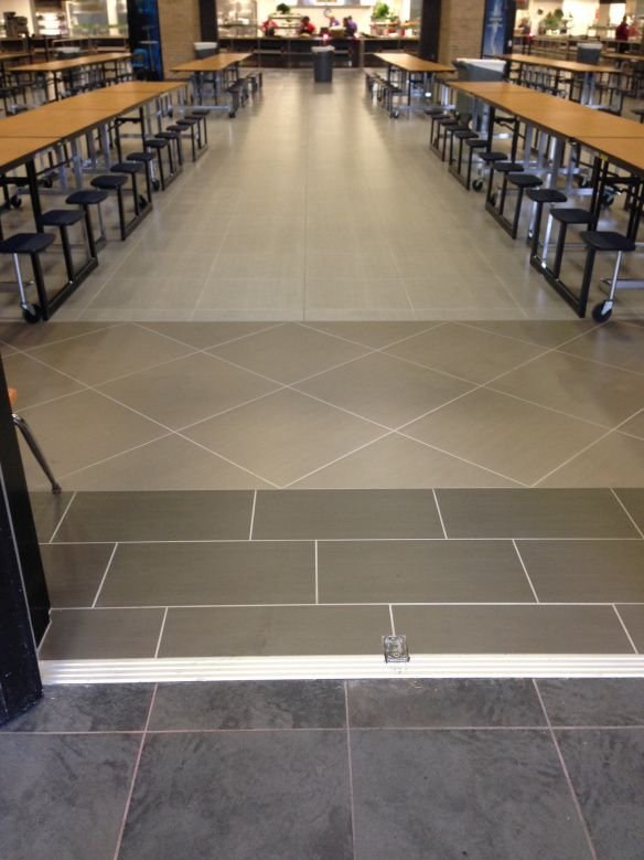 Cafeterias Porcelain Tiles And High Schools On Pinterest