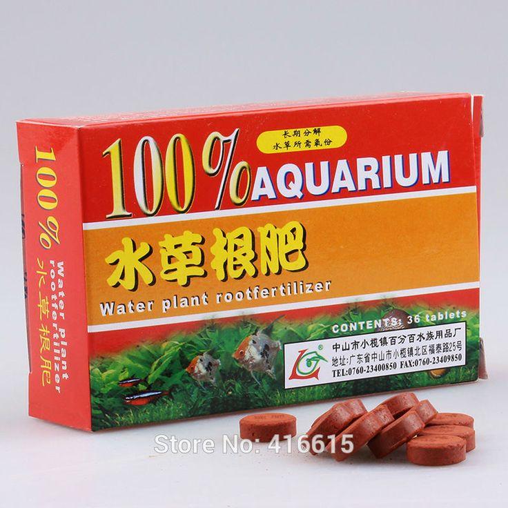Haute Qualité à Libération Lente Aquarium Plantes Engrais 36 Comprimés Aquatiques Engrais Racine Pour L'usine D'eau Réservoir de Poissons D'eau Douce