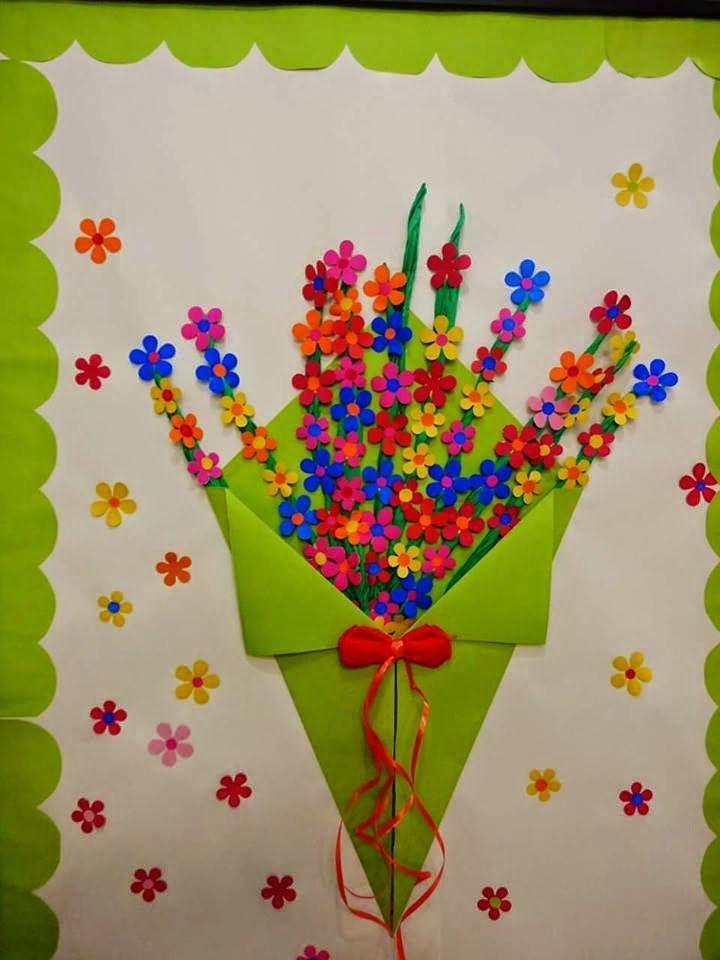 Картинках, открытки на праздник мамам детский сад