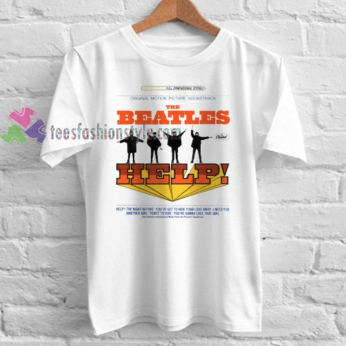 The Beatles Help album cover t shirt gift tees unisex adult cool tee shirts //Price: $11.99  //