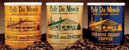 have yet to find a better cup of coffee than that of New Orleans' Cafe Du Monde...