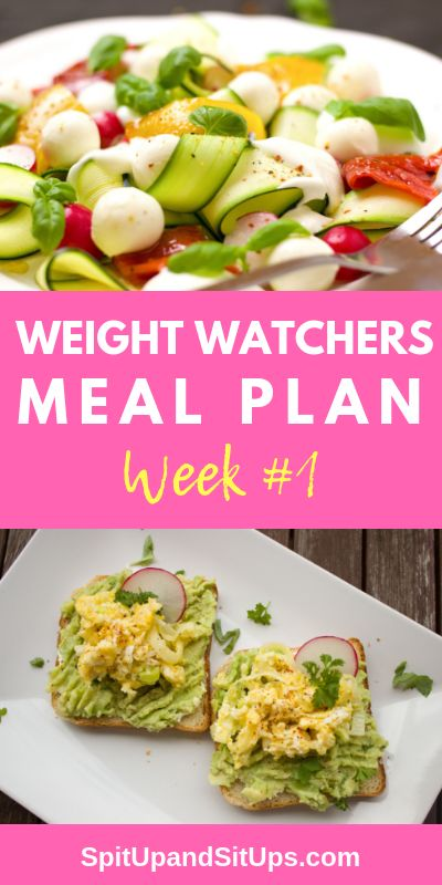 Weight Watchers Weekly Meal Plan Week 1 #weightwatchers #mealplan #healthandfitness    Check out Weight Watchers breakfast, lunch, dinner and snack options for the entire week! via @ashleysuasu