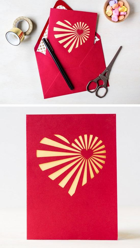 17 Best ideas about Homemade Valentine Cards – Valentines Cards Pictures