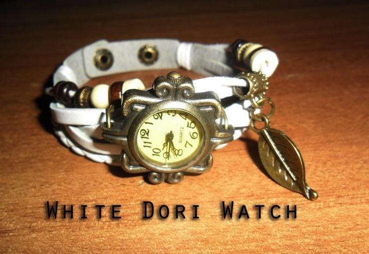 Designer Dori watch  White Color Rs.250