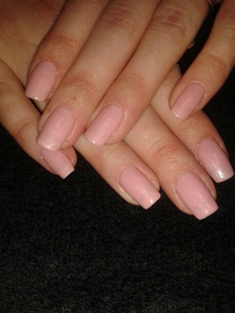 Gelish uv polish over natural nails