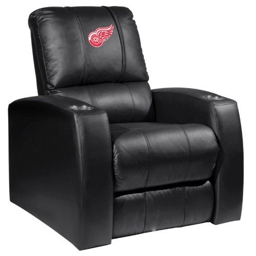 Home Theater Recliner with Detroit Red Wings – Detroit Sports Outlet