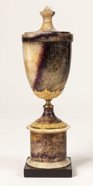 *A Rare Regency Period Blue John Vase - English circa 1800