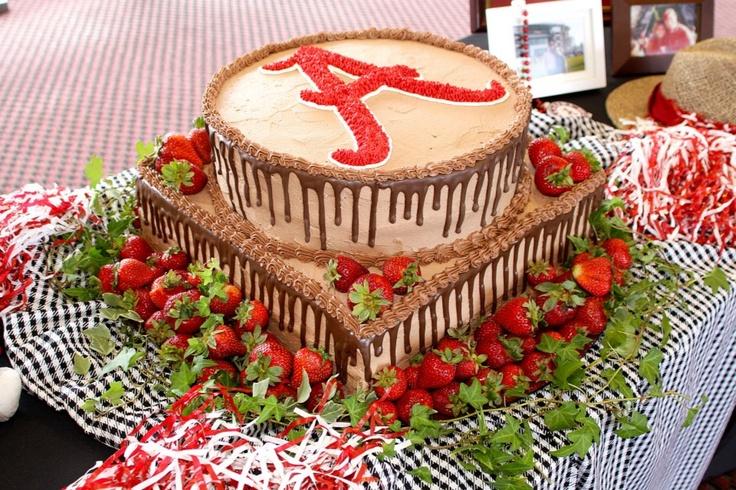 Alabama wedding cake!!