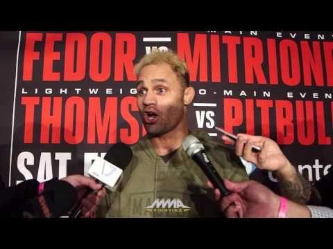 Josh Koscheck Bellator 172 Media Scrum