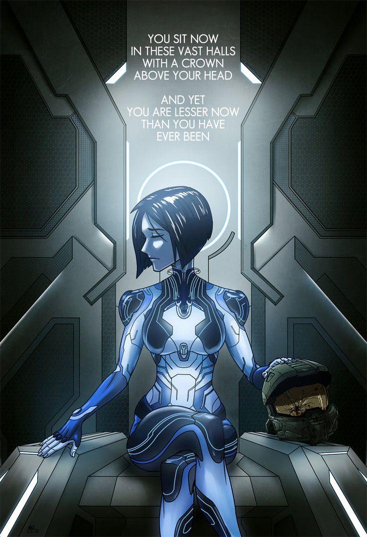 Halo 5: In these Vast Halls by AndrewKwan.deviantart.com on @DeviantArt
