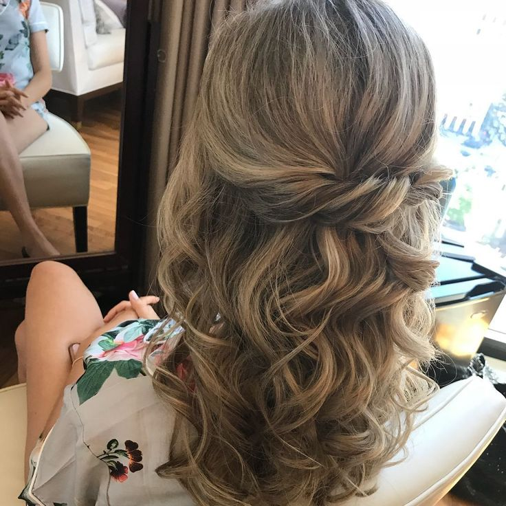 Textured half up half down coiffure concepts, marriage ceremony hairstyles