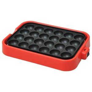 Electric Takoyaki Pan Pancake Puffs – 24 molds
