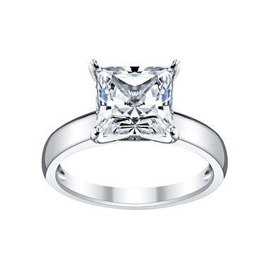 diamonart 174 cubic zirconia princess engagement ring