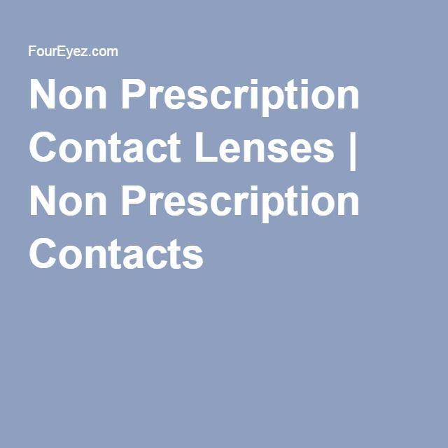 Non Prescription Contact Lenses | Non Prescription Contacts