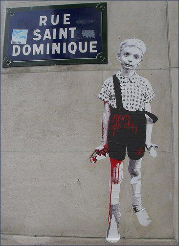 La rue Saint-Dominique  (Paris 7ème)