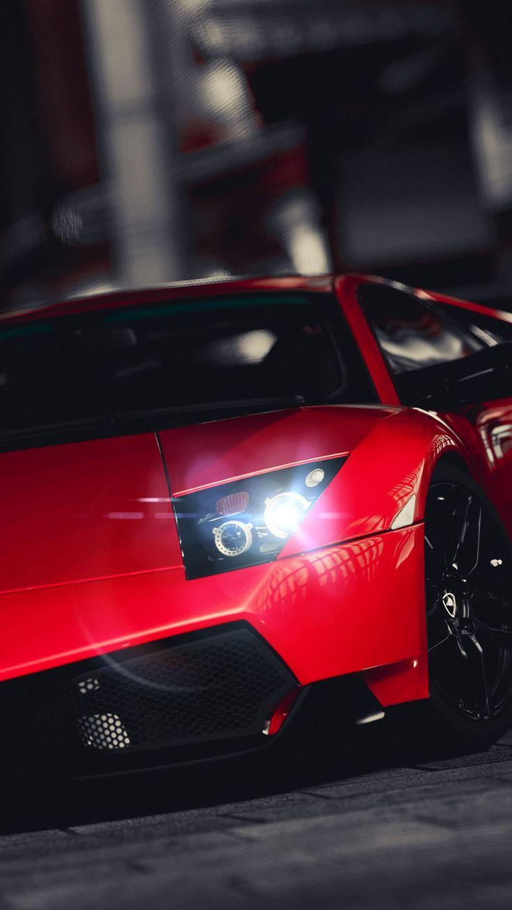 Lamborghini veneno bright red iphone 6 plus hd wallpaper