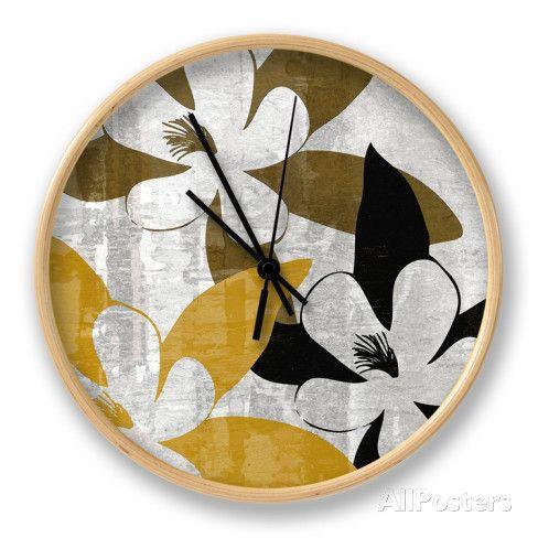 Bloomer Squares III Horloge par James Burghardt sur AllPosters.fr