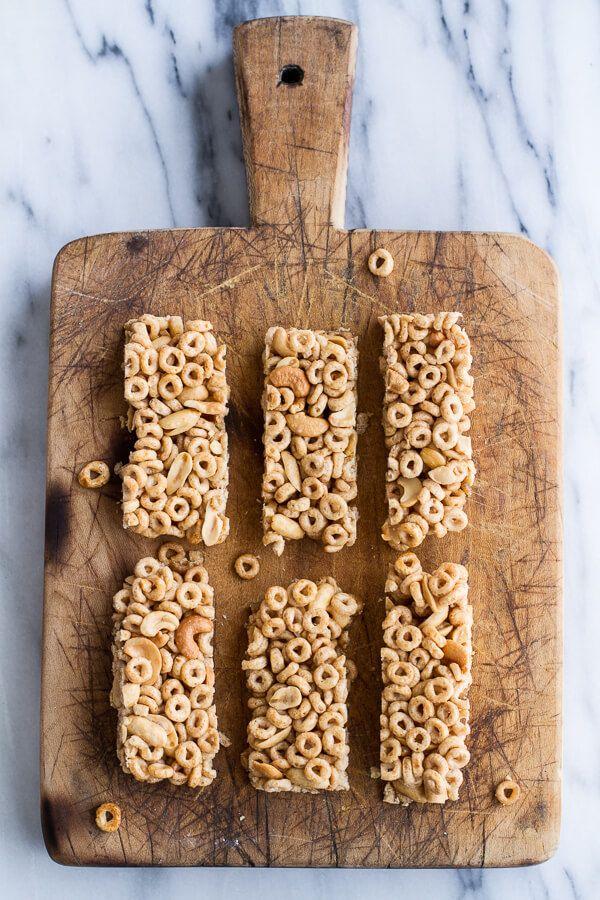 Honey Nut Cheerio Bars.