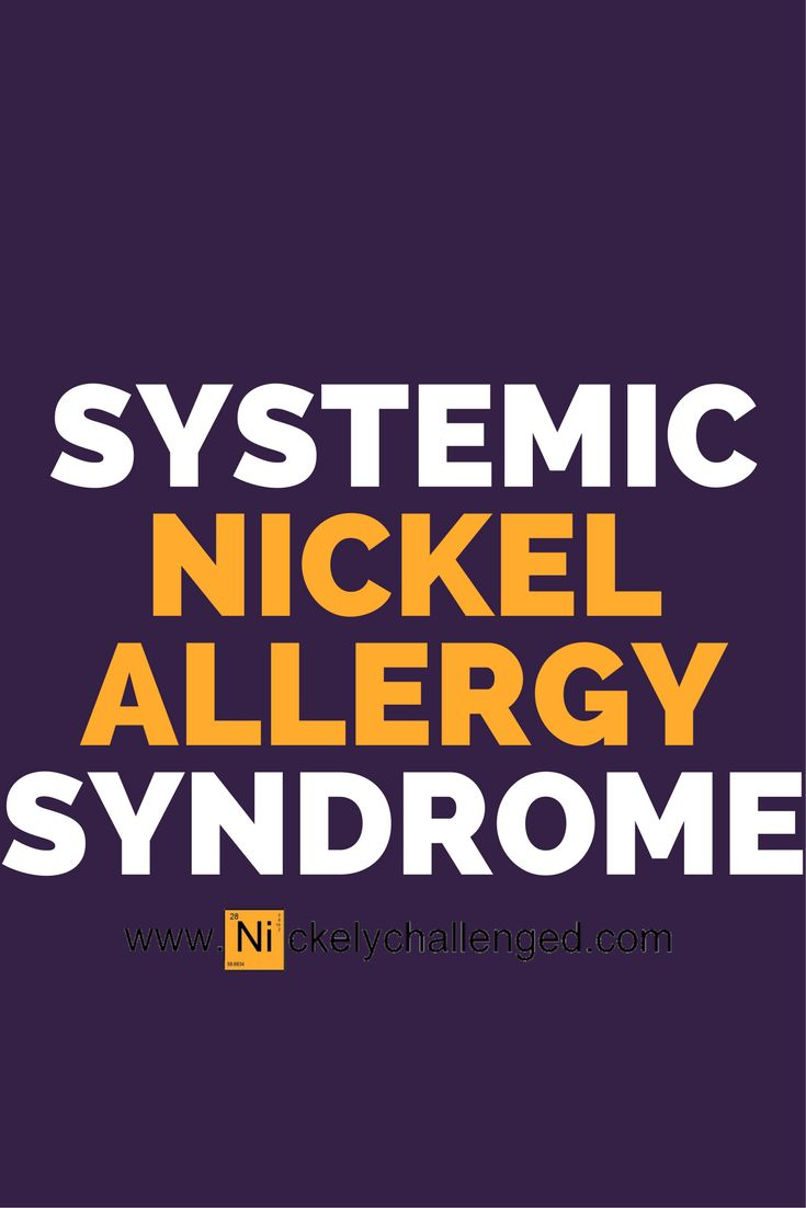 Wait, what? There is another type of nickel allergy. Systemic nickel allergy syndrome is usually self-diagnosed unless you are in Italy most doctors think a nickel allergy is just a rash. If you guys are blessed like me, you probably have 90% of the symptoms. #nickelallergy #nickelychallenged #metalallergy
