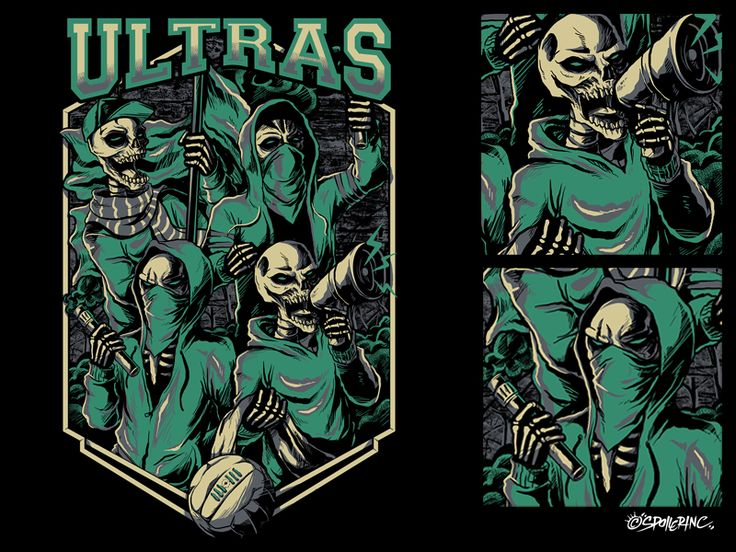 Ultras Football Supporter