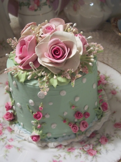 Fake cakes! Can you believe it?? Utterly exquisite