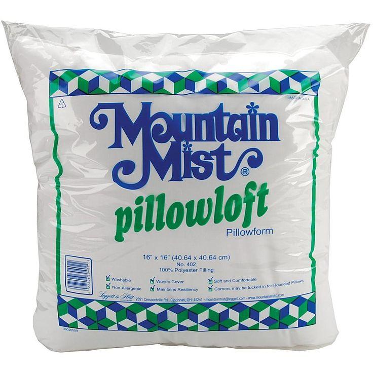 """MOUNTAIN MIST Pillowloft Pillowforms - 16"""" x 16"""""""