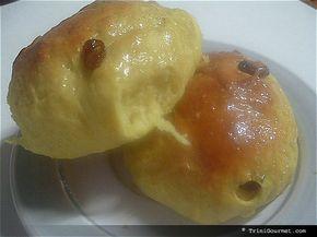 Trinidad Sugar Buns/Hot Cross Buns (recipe)