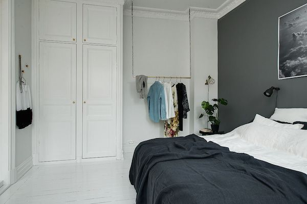 Duvet day in this monochrome bedroom?