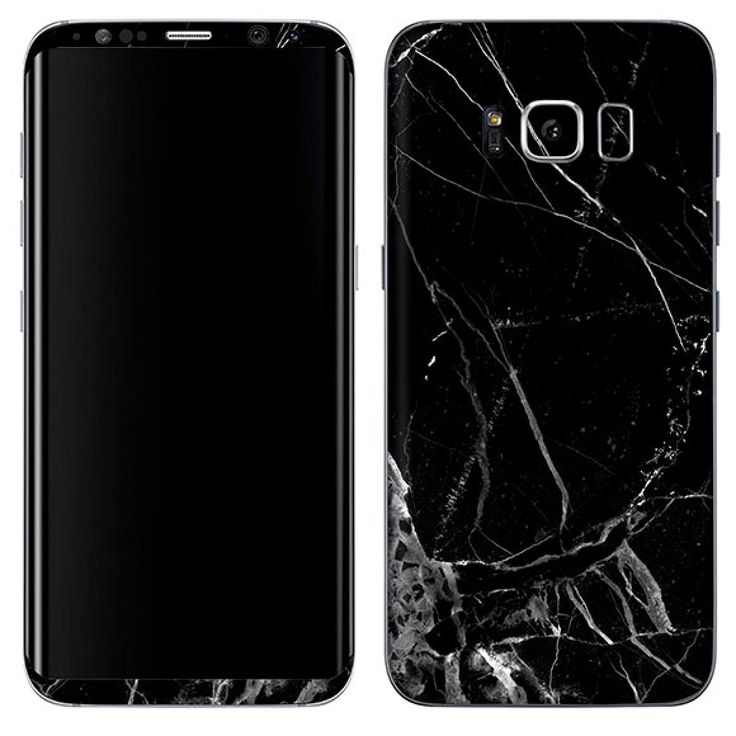 BLACK MARBLE SKIN SKIN FOR GALAXY S8