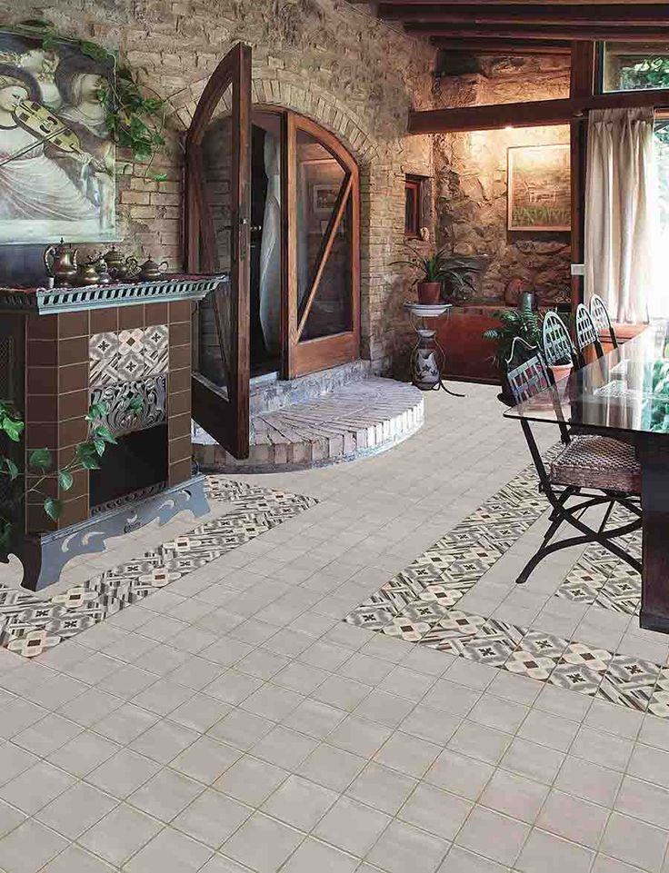 Decorative Tile Floors Enchanting Ceramic Floor Tiles The Pros And