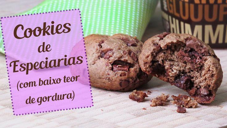 Receita de Cookies de Especiarias (com baixo teor de gordura)   Choco Me...