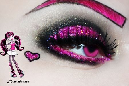 Monster High series - Draculaura https://www.makeupbee.com/look.php?look_id=87181
