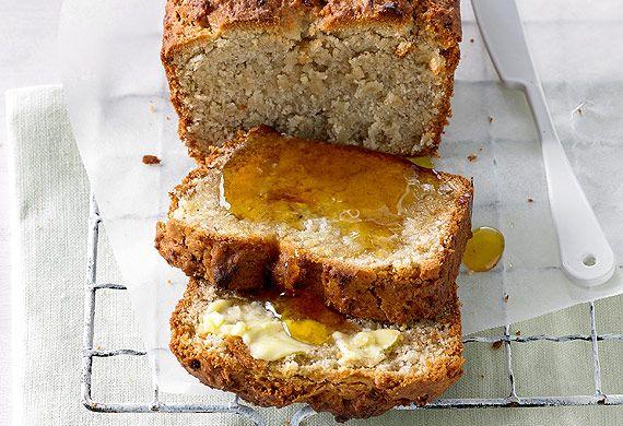 Kim McCosker banana bread with psyllium husks for Metamucil.